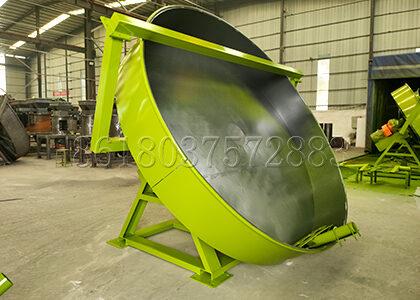Pan Pellet Making Equipment for Organic Fertilizer Production