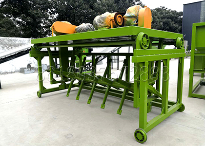 Groove Type Compost Turning Machine for Trench Type Fermentation