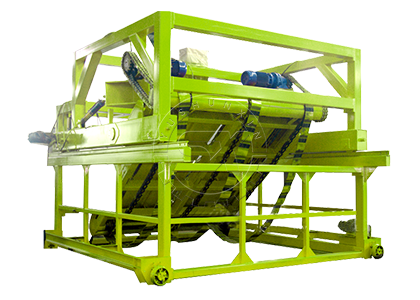 Chain Plate Type Composter for Deep Groove Fermentation