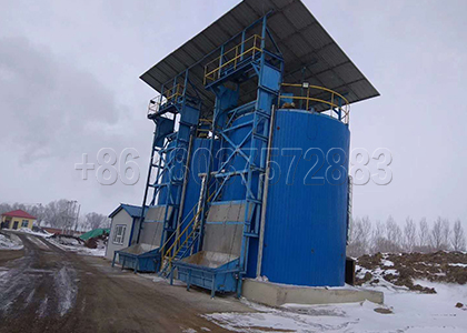 Two Fermentation Tanks from FPC Fertilizer Equipment Production Base