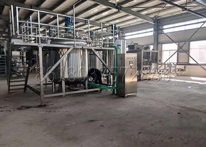 Liquid Fertilizer Production Line Designed by FPC in Fertilizer Making Plant