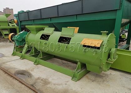 New Type Organic Fertilizer Granulation Machine Finished Products in FPC Factory
