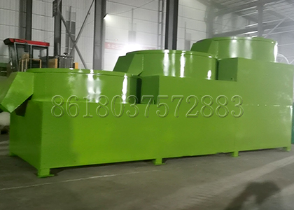 Cost-Effective Three Grade Fertilizer Polishing Machine Made from FPC