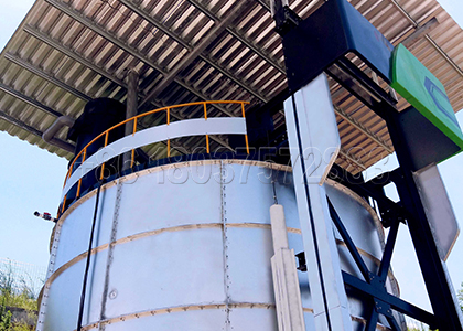 Installed Fully Automatic Fermentation Machine in Customers' Fertilizer Making Factory