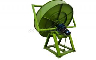 pan granulating machine