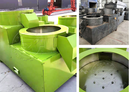 The Inner Structure And Composition Materials of Fertilizer Polishing Machine