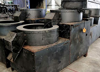 The Finished Fertilizer Round Shaping Machine in FPC Factory.